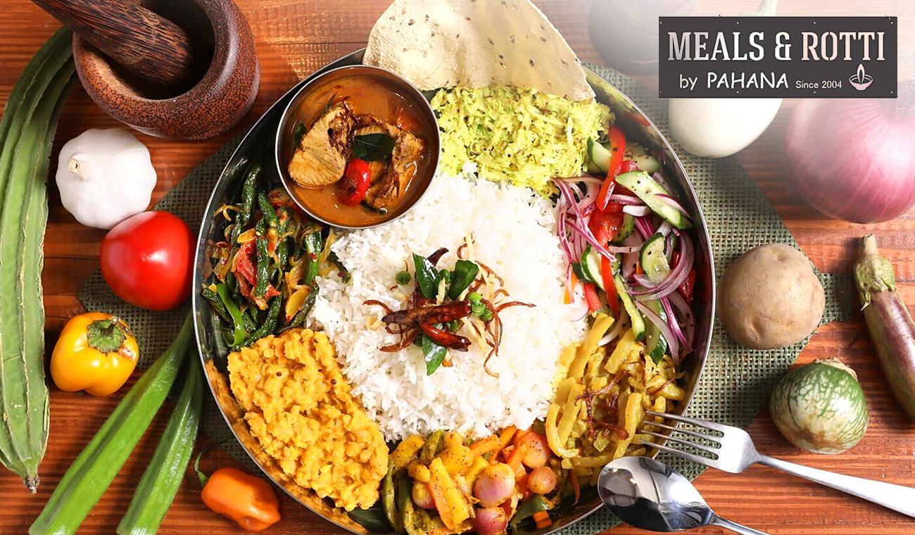 【テイクアウト/WEB予約/駅徒歩5分】金山で人気のスリランカ料理の姉妹店。契約農家の野菜たっぷり、食堂感覚で楽しめる本格的な味《選べるスリランカ料理+選べるサイドメニュー》